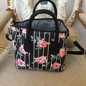 Betsey Johnson Rose Hand Bag